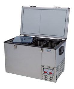 National Luna 60L S/S Fridge/Freezer (Without Baskets)